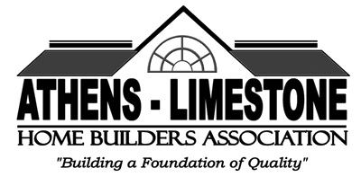 logo athens limestone home builders association